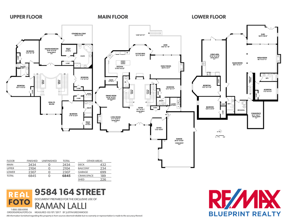 9584 164th street surrey raman lalli real estate pdf floorplan malvernweather Gallery